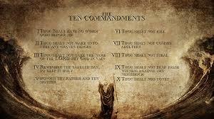 01 - 10 commandments
