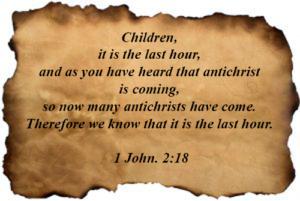 1 John 02:18