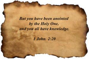 1 John 02:20