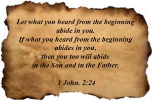 1 John 02:24