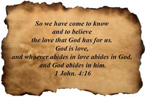 1 John 04:16