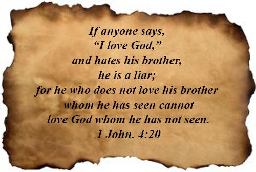1 John 04:20