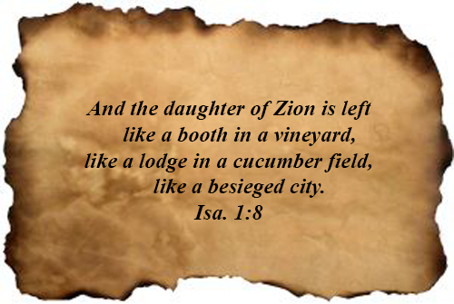 Bible Verses : Isaiah 01:08