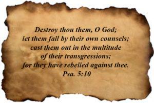 Psalm 005:10
